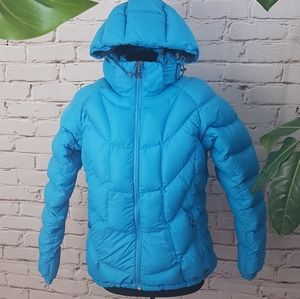 MEC Down Jacket with Removable Hood